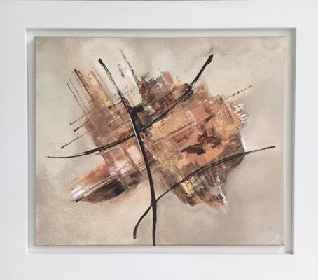 Cappucino, Acryl , 68 x 78 cm  550.-