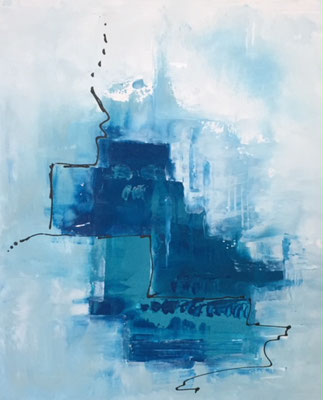 Just Blue, Acryl 50 x 60 cm, 280.-