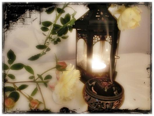 Laterne um den Seelen den Weg ins Licht zu leuchten..wir immer vor der Haustür von Allerheiligen bis Allerseelen aufgestellt