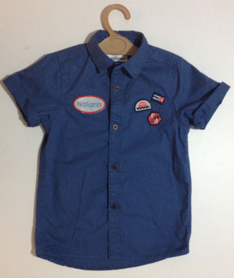 Chemise enfant personnalisée
