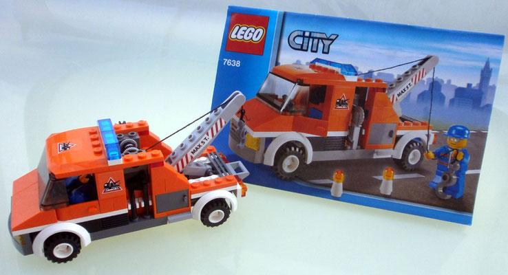 Lego City 7638 Abschleppwagen