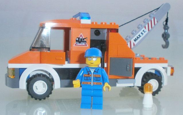 Lego City 7638 Abschleppwagen Mechaniker