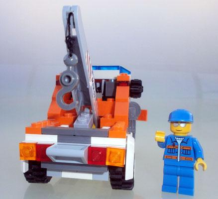 Lego City 7638 Abschleppwagen hinten