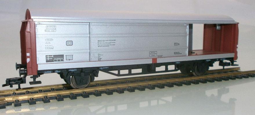 Fleischmann H0 5335 Schiebewandwagen offen