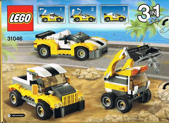 Lego Creator 31046 Rueckseite