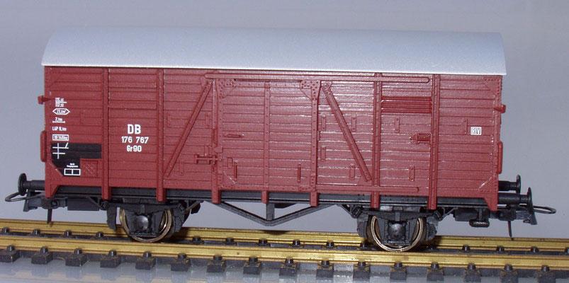 Roco 176 767 H0 gedeckter Güterwagen Nahaufnahme