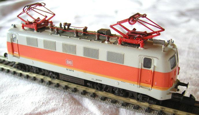 Fleischman N 7329, Elektrische Lok der DB, S-Bahn Lackierung