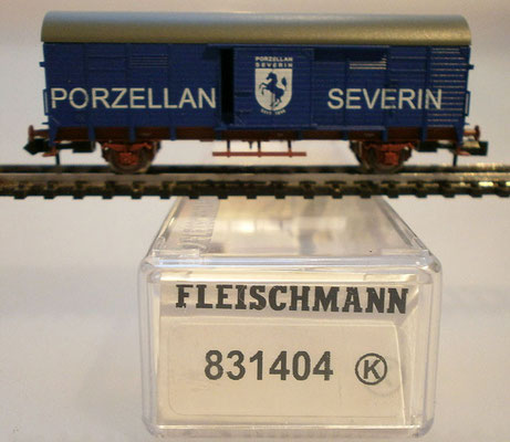 Fleischmann N 831404 Severin Porzellan Verpackung
