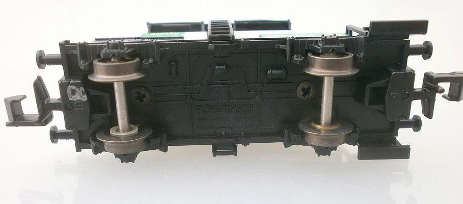 Fleischmann 8409 Kesselwagen Bayer unten