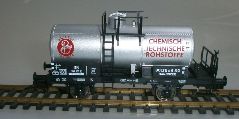 Fleischman H0 542617 Kesselwaggon Bolte & Co. mit Bremserbühne