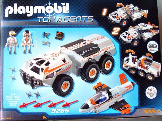 Playmobil 9255 Spy Team Rueckseite