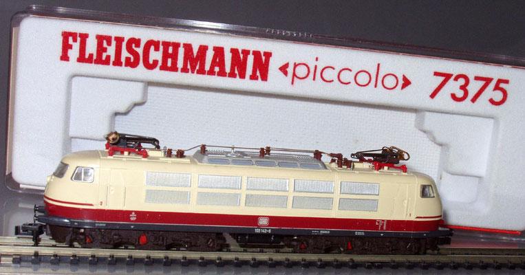 Fleischmann 7375 N E-Lok mit Verpackung