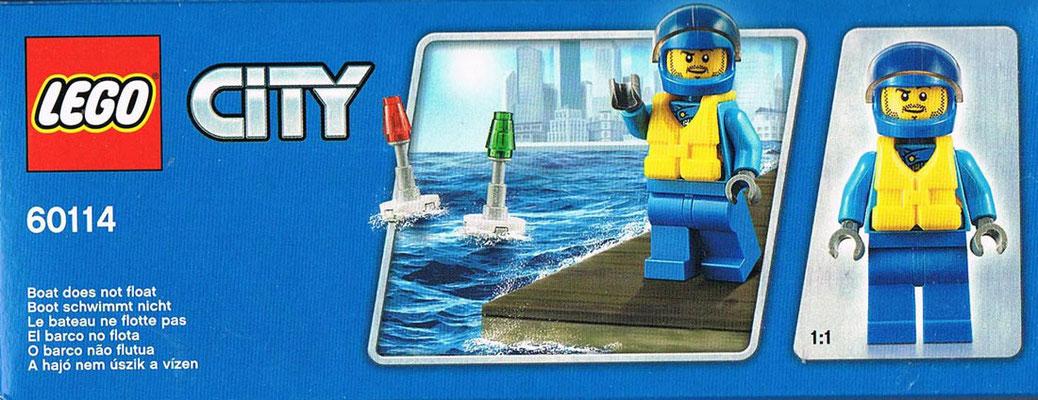 Lego City 60114 Zubehoer Seitenansicht