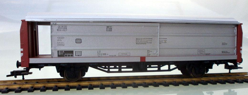 Fleischmann H0 5335 Schiebewandwagen geöffnet