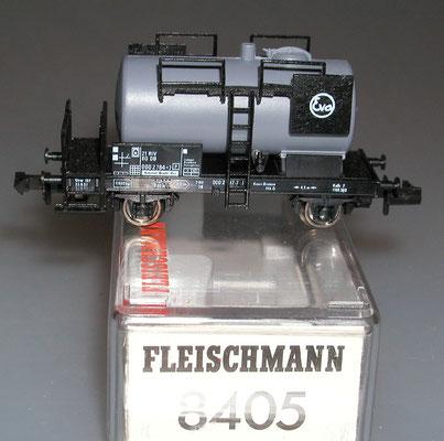 Fleischmann 8405 Spur N Kesselwagen Eva mit Verpackung