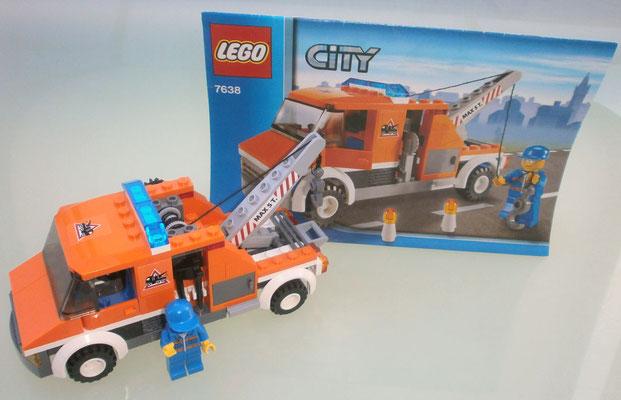 Lego City 7638 Abschleppwagen Anleitung