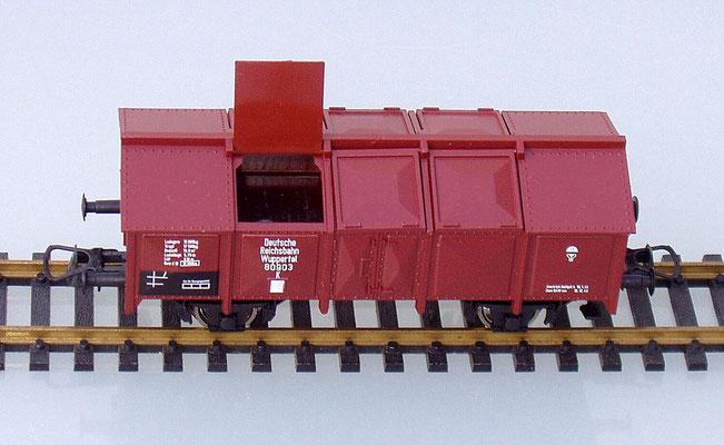 Roco H0 80903 Klappdeckelwagen geoeffnet