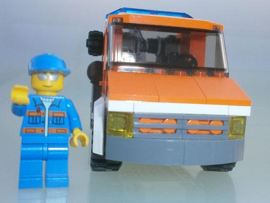 Lego City 7638 Abschleppwagen vorne