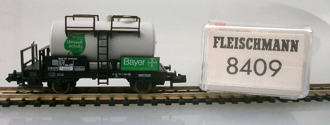 Fleischmann 8409 Kesselwagen Bayer Verpackung Nr.