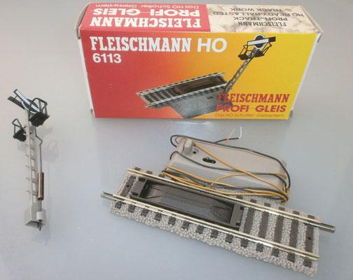 Fleischmann 6113 Entkupplungsgleis Verpackung