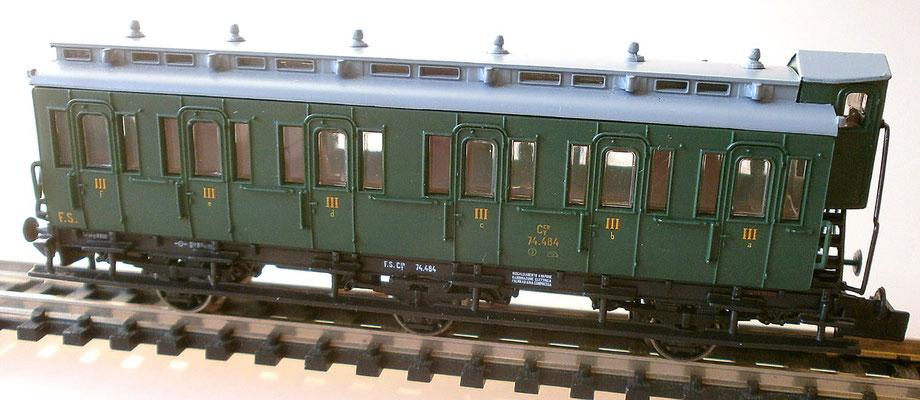 Fleischmann 806503 K Abteilwagen der FS