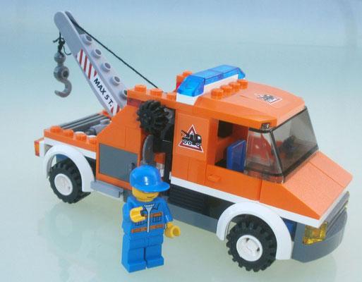 Lego City 7638 Abschleppwagen Seite