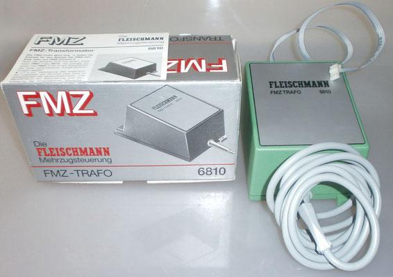 Verpackung MFZ-Trafo Fleischmann 6810