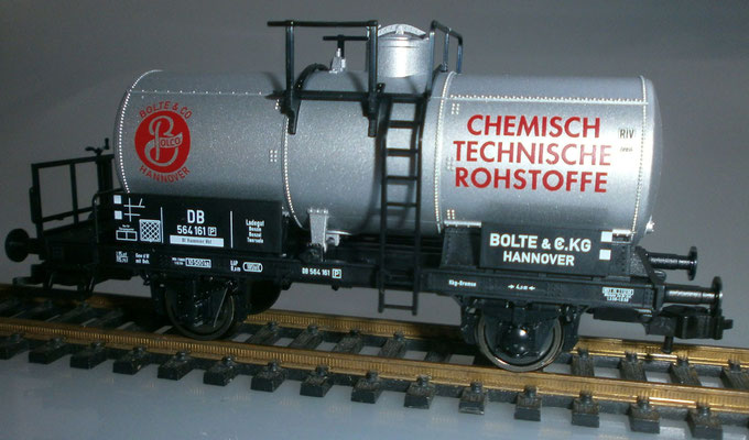 Fleischmann H0 542617 Kesselwaggon Bolte & Co. Seite