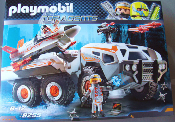 Playmobil 9255 Spy Team Battle Truck Vorderseite