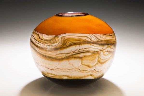 Tangerine Strata Sphere