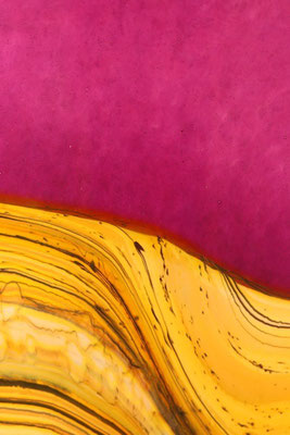 Red Amethyst Strata Detail