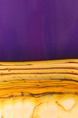 Blue Amethyst Strata Detail