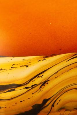 Tangerine Strata Detail
