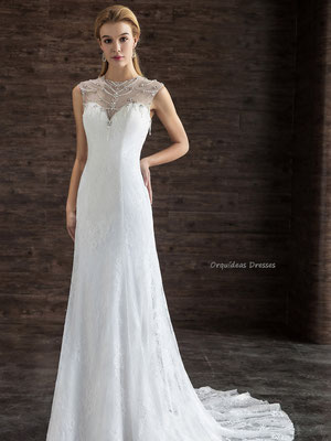 vestidos novia boda civil - orquideas dresses vestidos especiales