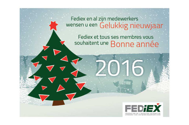 Christmas card for Fediex