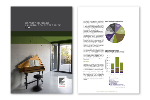 Federation of the Belgian Cement Industry, Annual Report