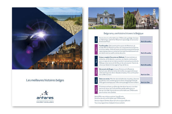 Brochures, graphical charter