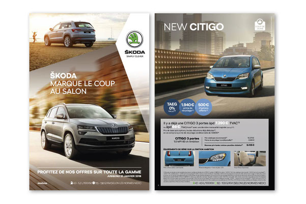SKODA, for JWT advertising agency