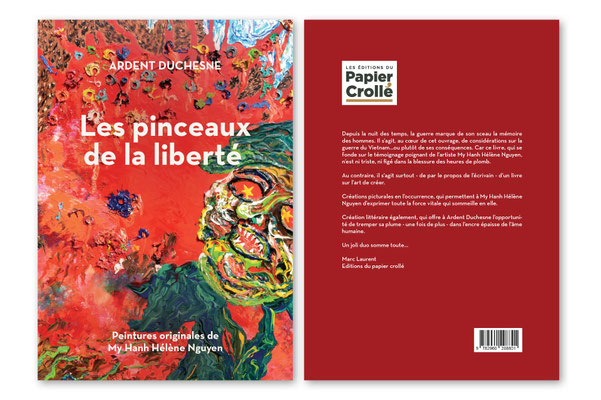 Book design for Papier Crollé