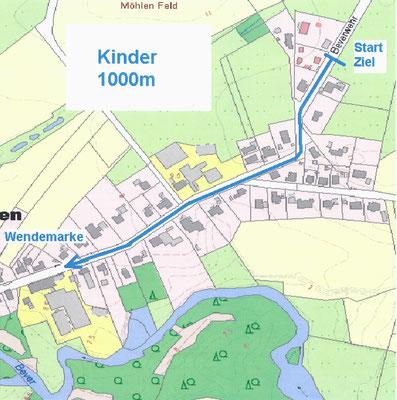 ca. 1 km