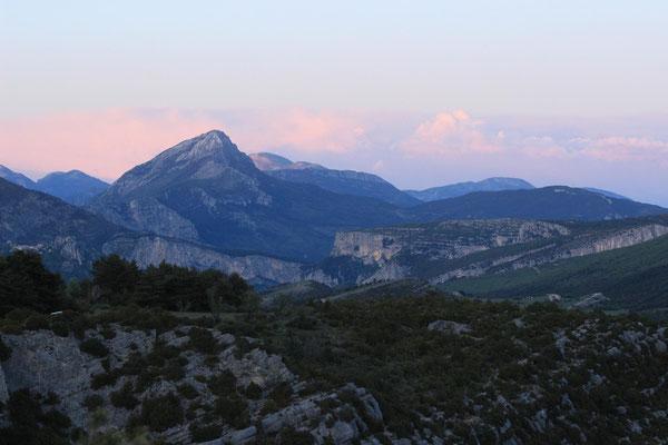 Übernachten am Plateau
