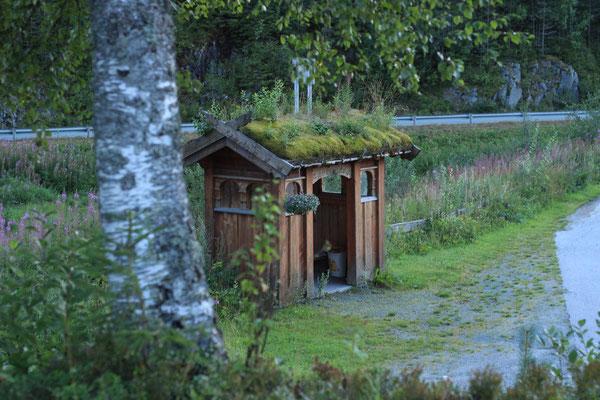 norwegische Bushaltestellen