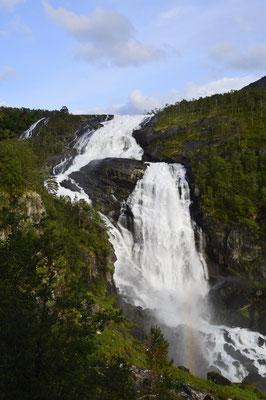 Wasserfallwanderung Hardangervidda