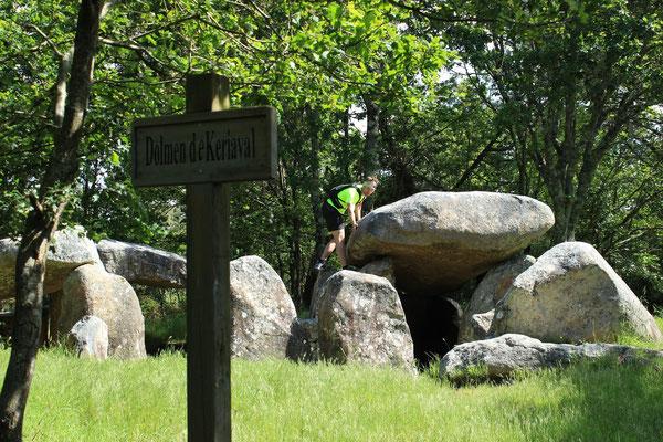 Dolmen in Carnac - eine schöne 15 km Rundtour