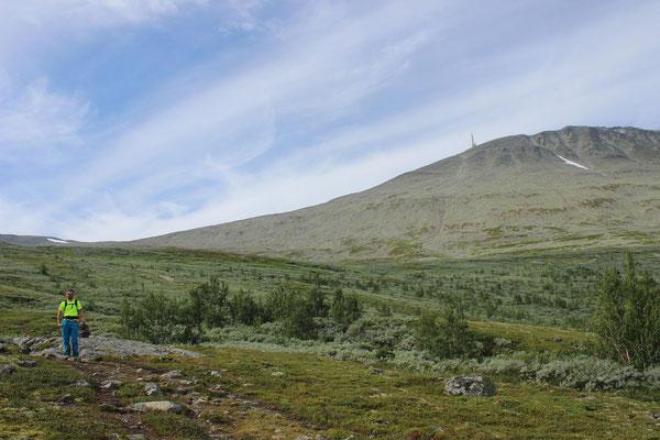 das Gaustatoppen - der aussichtsreichste Berg Norwegens