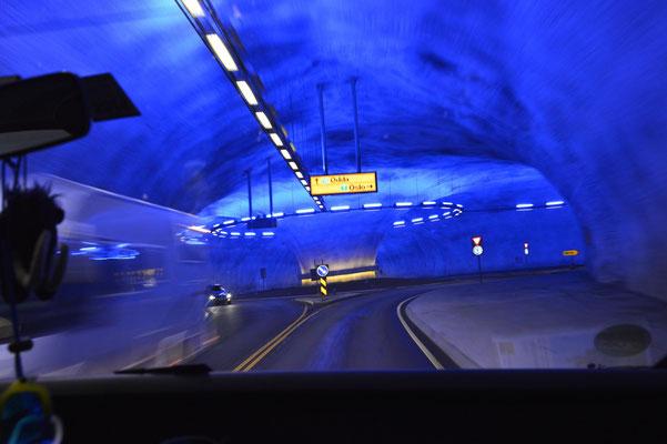 Tunnel-Kreisverkehr