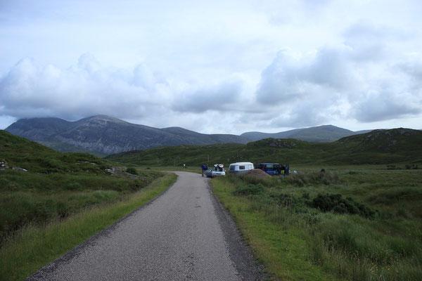 irgendwo im Norden von den Highlands