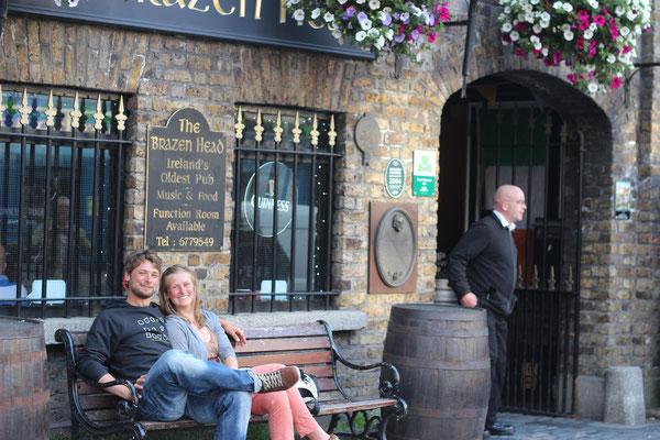 The oldest pub: Brazenhead