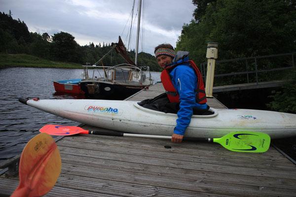 kayaking river ness