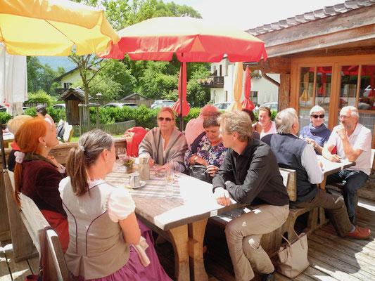 Mittagessen Leopoldhof